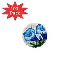 Enzian 1  Mini Button Magnet (100 Pack)