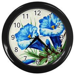 Enzian Wall Clock (Black)