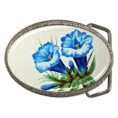 Enzian Belt Buckle (Oval)