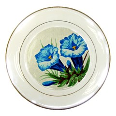 Enzian Porcelain Display Plate