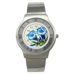 Enzian Stainless Steel Watch (unisex)