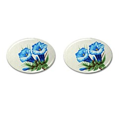 Enzian Cufflinks (oval)