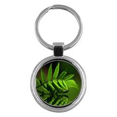 Leaf Key Chain (Round)