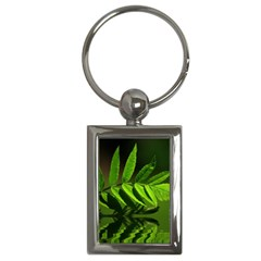 Leaf Key Chain (Rectangle)