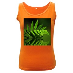 Leaf Womens  Tank Top (Dark Colored)