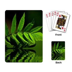 Leaf Playing Cards Single Design