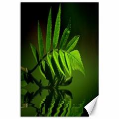 Leaf Canvas 12  x 18  (Unframed)
