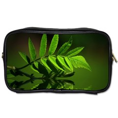 Leaf Travel Toiletry Bag (two Sides)