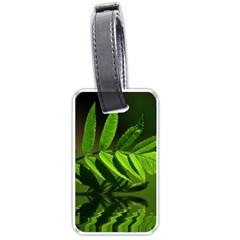 Leaf Luggage Tag (two Sides)