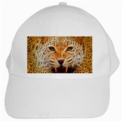 Jaguar Electricfied White Baseball Cap