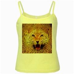 Jaguar Electricfied Yellow Spaghetti Tank