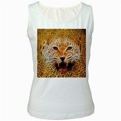 Jaguar Electricfied Womens  Tank Top (White)