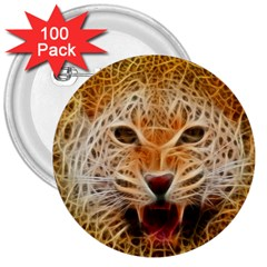Jaguar Electricfied 3  Button (100 Pack)