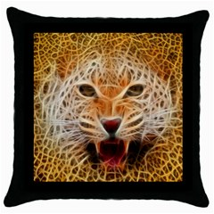 Jaguar Electricfied Black Throw Pillow Case