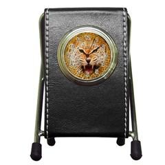 Jaguar Electricfied Stationery Holder Clock