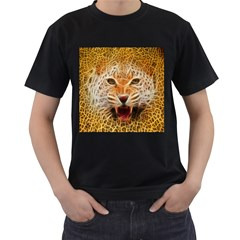 Jaguar Electricfied Mens' Two Sided T-shirt (Black)