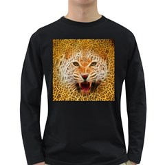 Jaguar Electricfied Mens' Long Sleeve T-shirt (Dark Colored)