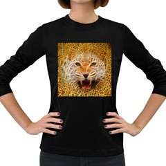 Jaguar Electricfied Womens' Long Sleeve T Shirt (dark Colored)
