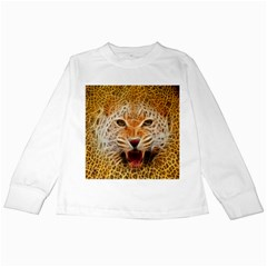 Jaguar Electricfied Kids Long Sleeve T Shirt