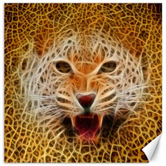 Jaguar Electricfied Canvas 12  x 12  (Unframed)