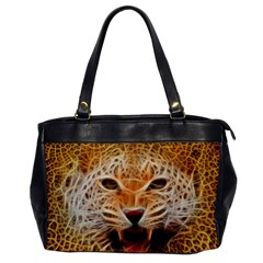 Jaguar Electricfied Oversize Office Handbag (one Side)