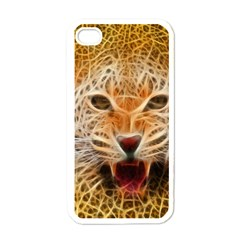Jaguar Electricfied Apple iPhone 4 Case (White)