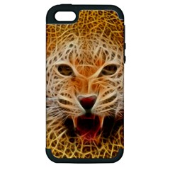Jaguar Electricfied Apple iPhone 5 Hardshell Case (PC+Silicone)