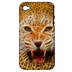 Jaguar Electricfied Apple Iphone 4/4s Hardshell Case (pc+silicone)