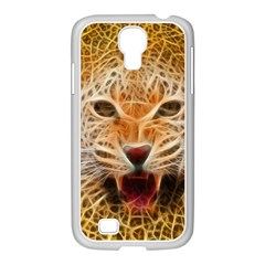 Jaguar Electricfied Samsung GALAXY S4 I9500/ I9505 Case (White)