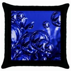 Magic Balls Black Throw Pillow Case