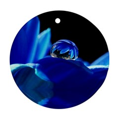 Waterdrop Round Ornament