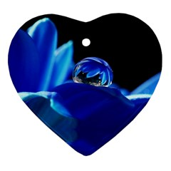 Waterdrop Heart Ornament