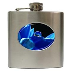 Waterdrop Hip Flask