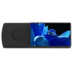 Waterdrop 4gb Usb Flash Drive (rectangle)