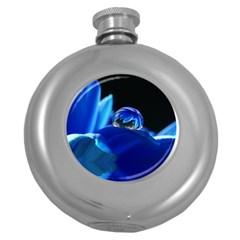 Waterdrop Hip Flask (Round)