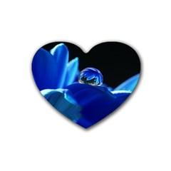 Waterdrop Drink Coasters 4 Pack (Heart)