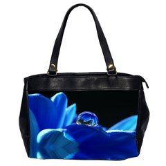 Waterdrop Oversize Office Handbag (Two Sides)