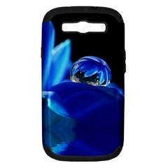 Waterdrop Samsung Galaxy S III Hardshell Case (PC+Silicone)