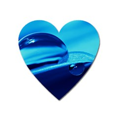 Waterdrops Magnet (Heart)