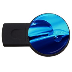 Waterdrops 1GB USB Flash Drive (Round)