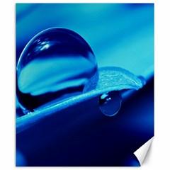 Waterdrops Canvas 20  X 24  (unframed)