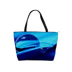 Waterdrops Large Shoulder Bag
