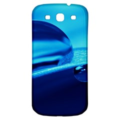 Waterdrops Samsung Galaxy S3 S III Classic Hardshell Back Case