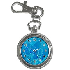 Blue Rose Key Chain & Watch
