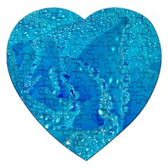 Blue Rose Jigsaw Puzzle (Heart)