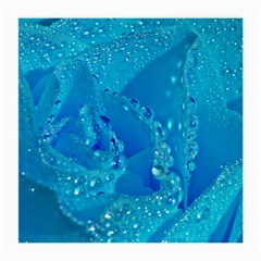 Blue Rose Glasses Cloth (medium, Two Sided)