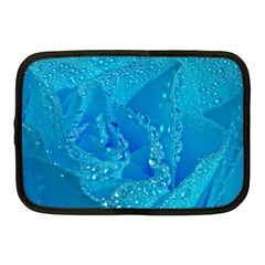 Blue Rose Netbook Case (Medium)