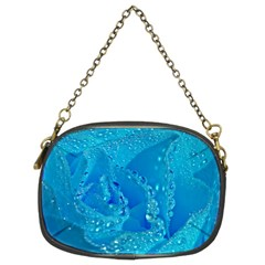 Blue Rose Chain Purse (Two Sided)