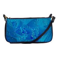 Blue Rose Evening Bag