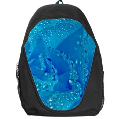 Blue Rose Backpack Bag